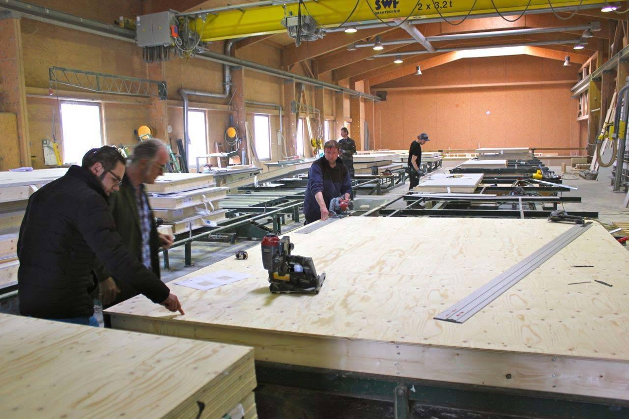 Produktion bei Finnholz