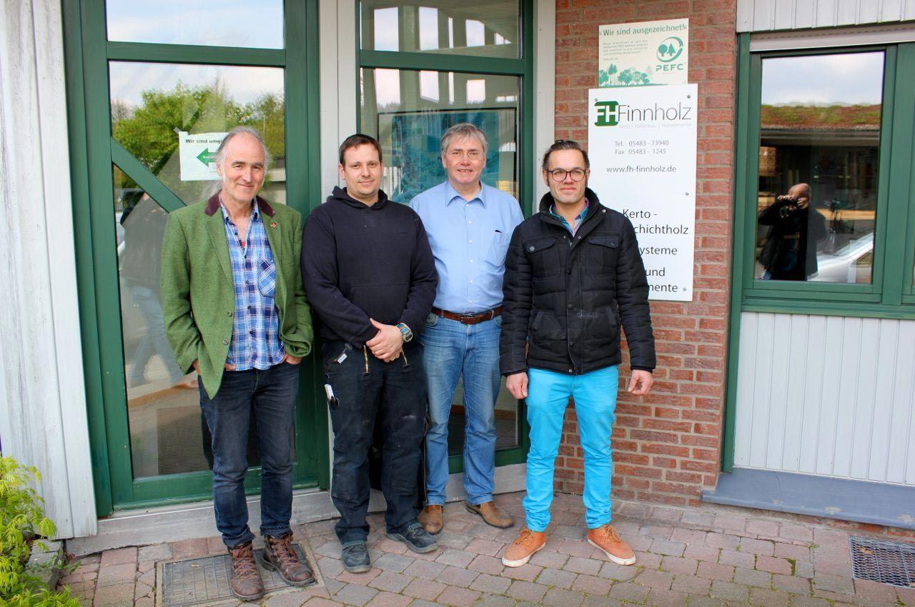 Besuch bei Finnholz: 03.Mai.2017