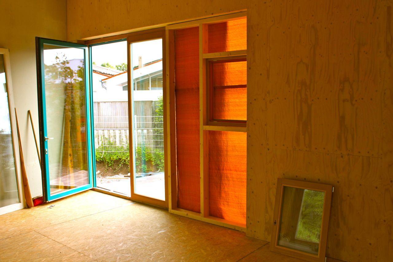 Fenster im Bandraum
