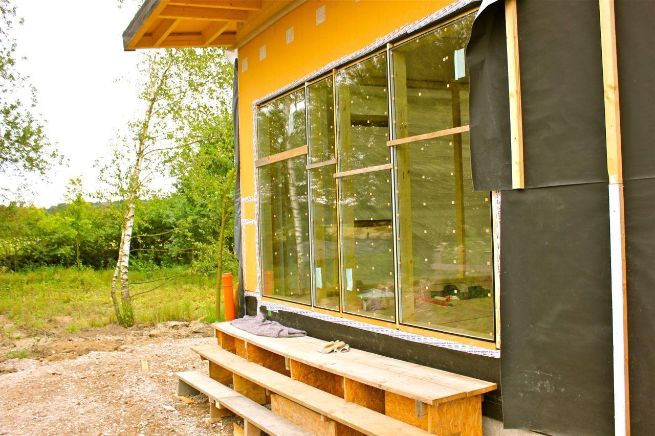 Flügel-Saal Fenster verglast