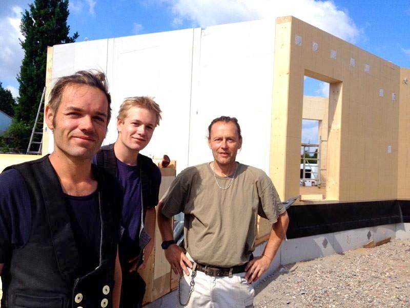 Bauteam: Johannes, Marten, Volker
