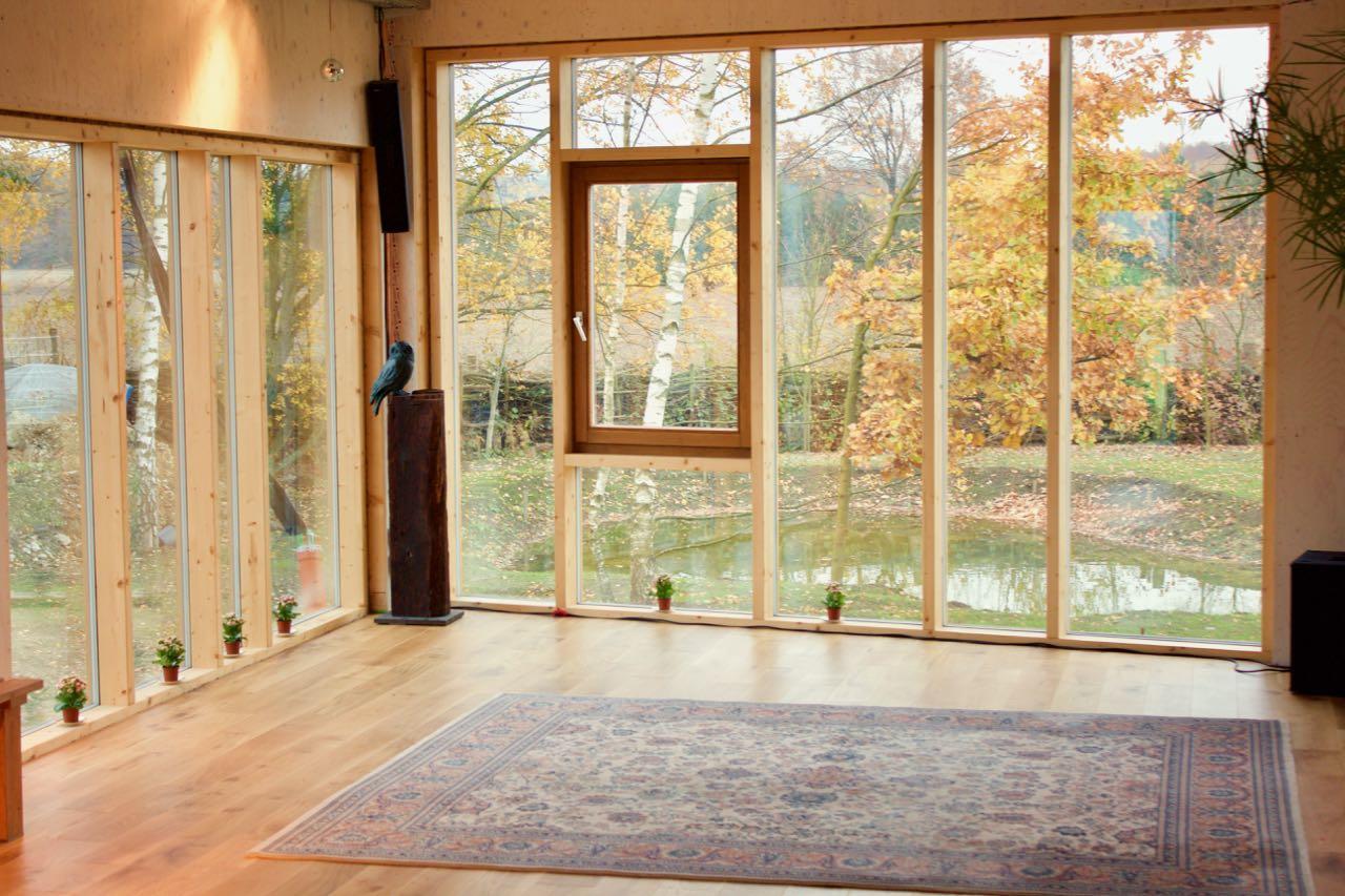 Saal Panorama-Fenster